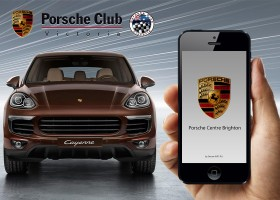 mobile app development india portfolio-Porsche Brighton
