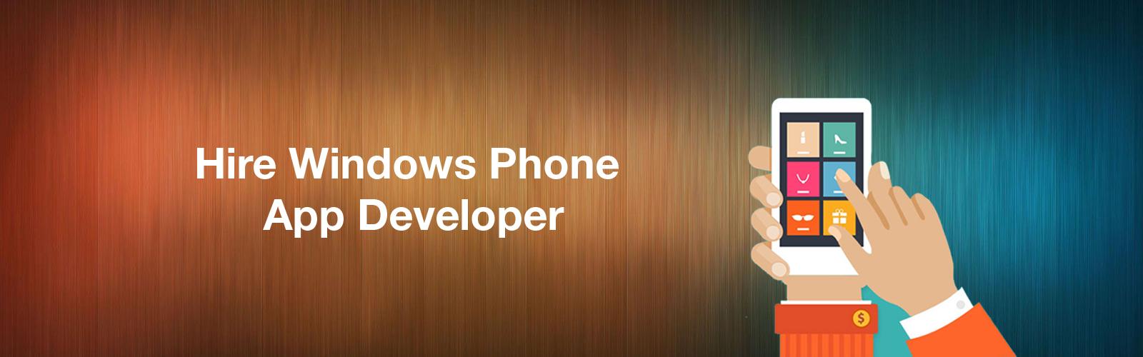 Hire Windows Phone App Developer