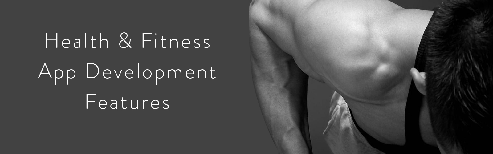 Health & Fitness app development solutions.