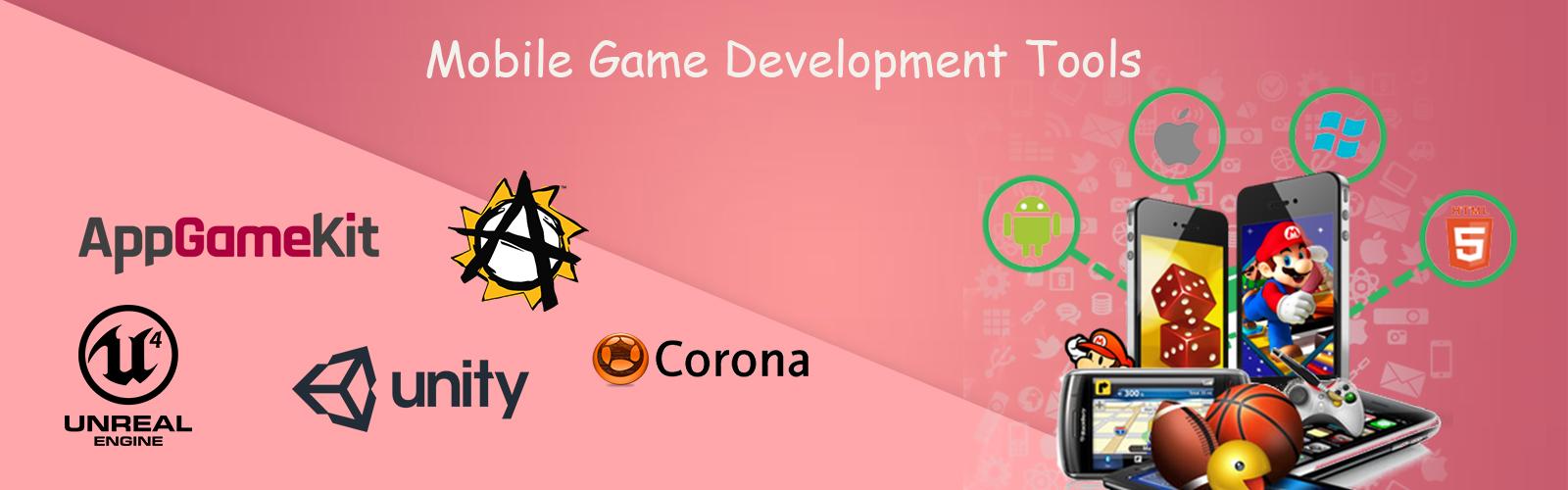 5 Best mobile game development tools - Maadi