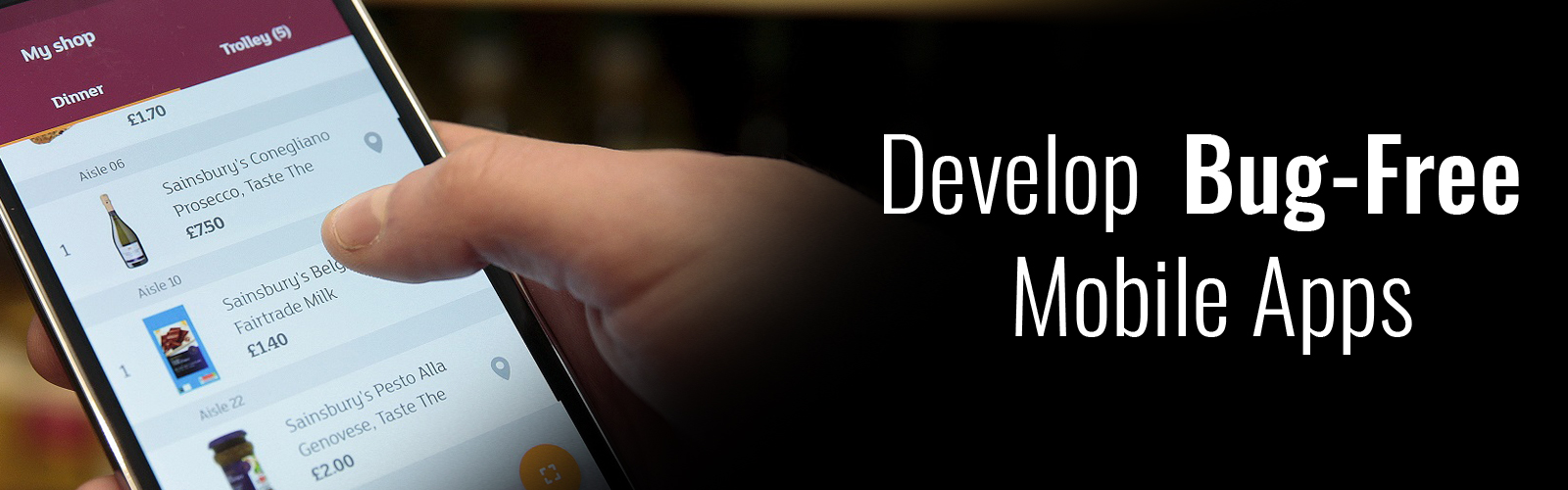 develop bug-free mobile applications