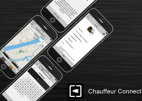 mobile app development india portfolio-Chauffeur Connect Summon