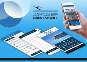 mobile app development india portfolio-Kuwait Airways